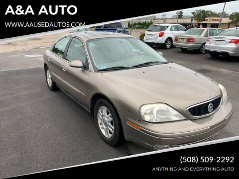 2004 Mercury Sable for sale at A&A AUTO in Fairhaven MA