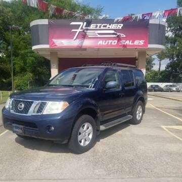 2008 Nissan Pathfinder for sale at Fletcher Auto Sales in Augusta GA