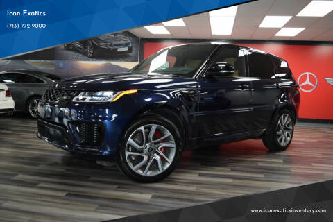 2019 Land Rover Range Rover Sport for sale at Icon Exotics in Houston TX