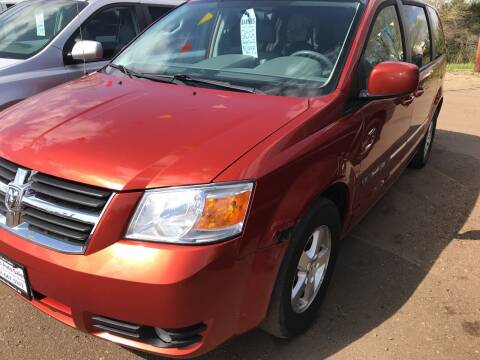 2008 Dodge Grand Caravan for sale at BARNES AUTO SALES in Mandan ND