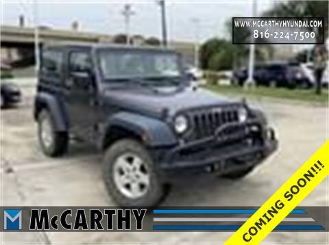 2016 Jeep Wrangler for sale at Mr. KC Cars - McCarthy Hyundai in Blue Springs MO