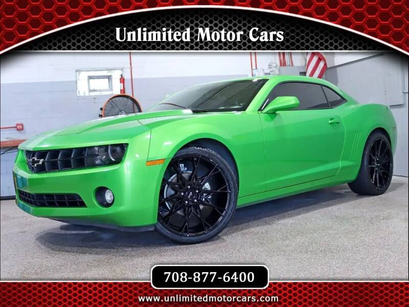 2011 Chevrolet Camaro for sale at Unlimited Motor Cars in Bridgeview IL