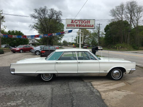 1966 Chrysler New Yorker for sale at Action Auto Wholesale in Painesville OH