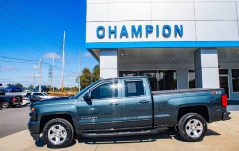 2018 Chevrolet Silverado 1500 for sale at Champion Chevrolet in Athens AL