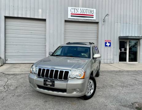 2009 Jeep Grand Cherokee for sale at CTN MOTORS in Houston TX