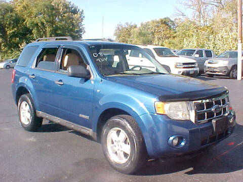 2008 Ford Escape for sale at Bates Auto & Truck Center in Zanesville OH