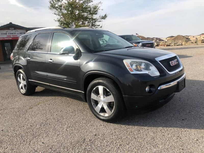 2011 GMC Acadia for sale at 5 Star Truck and Auto in Idaho Falls ID