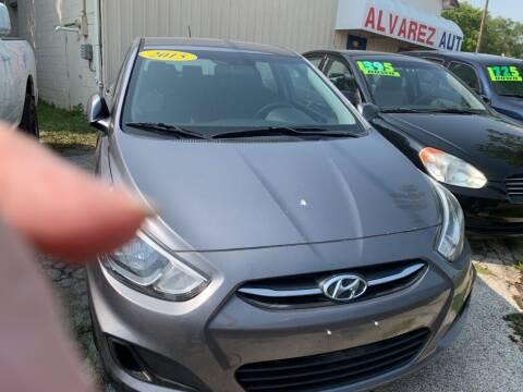 2015 Hyundai Accent for sale at ALVAREZ AUTO SALES in Des Moines IA