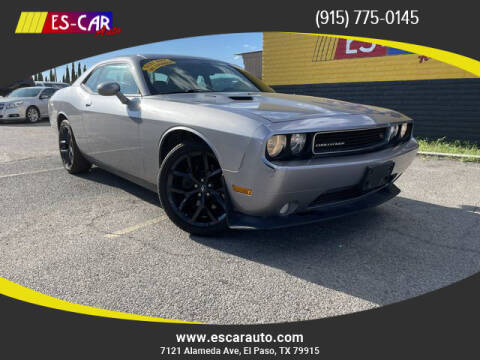 2014 Dodge Challenger for sale at Escar Auto - 9809 Montana Ave Lot in El Paso TX
