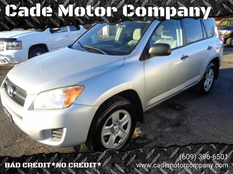 2011 Toyota RAV4 for sale at Cade Motor Company in Lawrenceville NJ