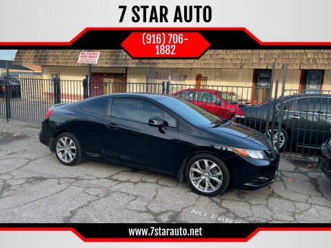 2012 Honda Civic for sale at 7 STAR AUTO in Sacramento CA