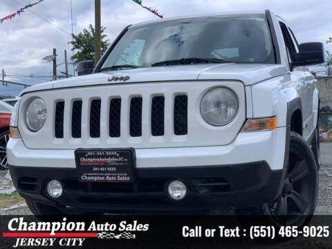 2014 Jeep Patriot for sale at CHAMPION AUTO SALES OF JERSEY CITY in Jersey City NJ