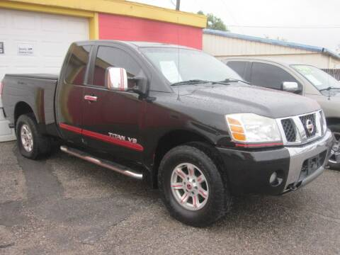 2005 Nissan Titan for sale at T & D Motor Company in Bethany OK