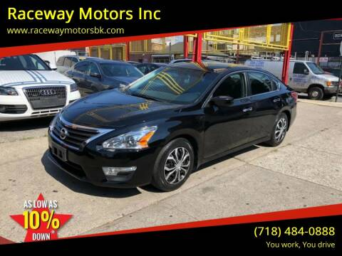 2013 Nissan Altima for sale at Raceway Motors Inc in Brooklyn NY