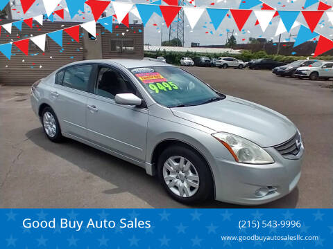 2011 Nissan Altima for sale at Good Buy Auto Sales in Philadelphia PA