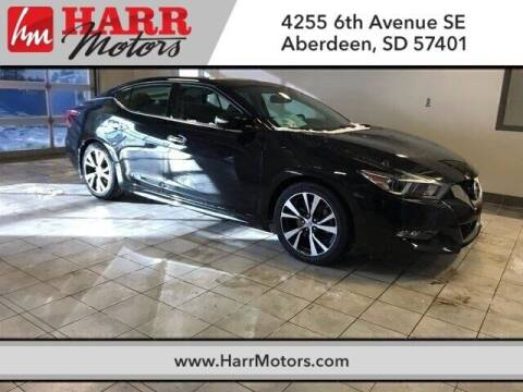 2017 Nissan Maxima for sale at Harr Motors Bargain Center in Aberdeen SD