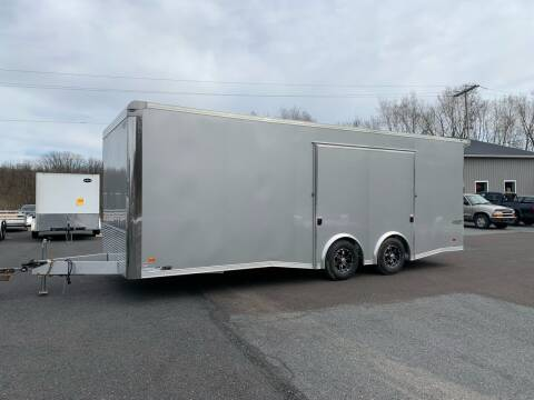 2020 Bravo Aluminum Silver Star 8.5x22 for sale at Smart Choice 61 Trailers in Shoemakersville PA