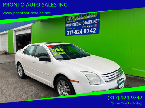 2009 Ford Fusion for sale at PRONTO AUTO SALES INC in Indianapolis IN