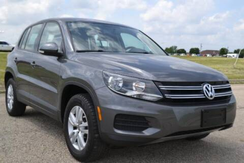 2014 Volkswagen Tiguan for sale at Alan Browne Chevy in Genoa IL