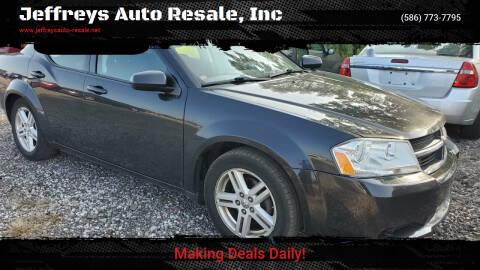 2010 Dodge Avenger for sale at Jeffreys Auto Resale, Inc in Clinton Township MI