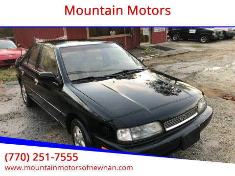 1995 Infiniti G20 for sale at Mountain Motors in Newnan GA