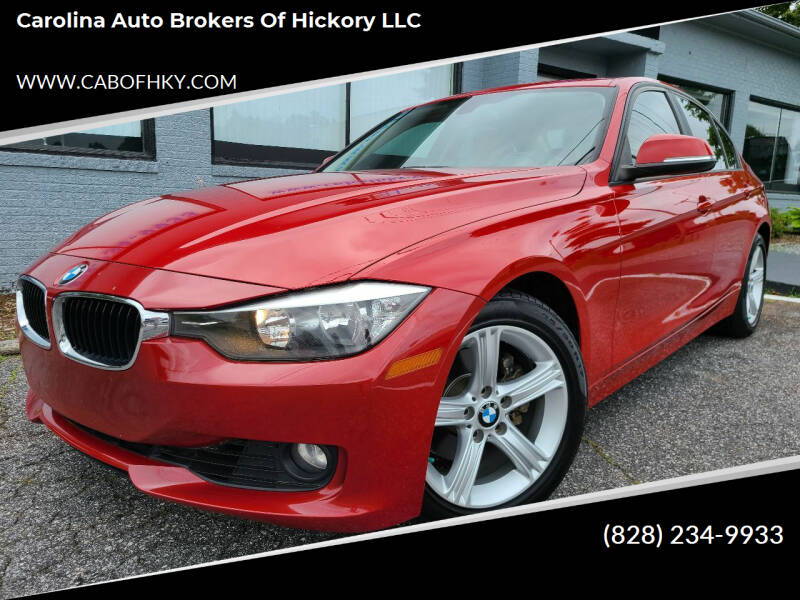 2014 BMW 3 Series for sale at Carolina Auto Brokers of Hickory LLC in Newton NC