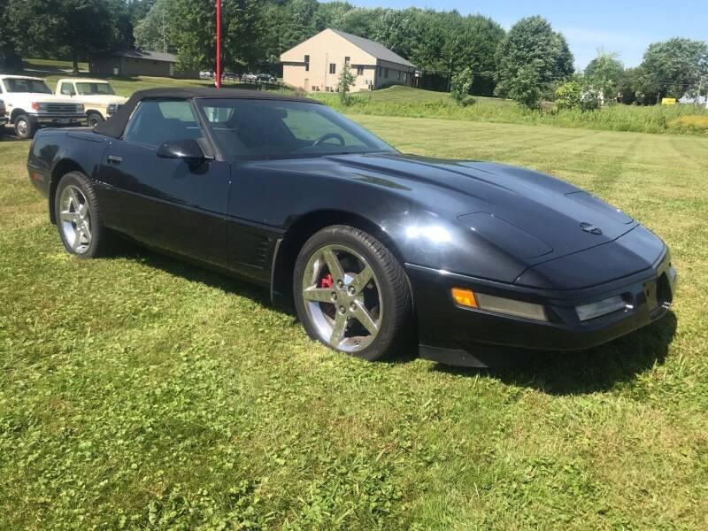 1996 Chevrolet Corvette for sale at FIREBALL MOTORS LLC in Lowellville OH