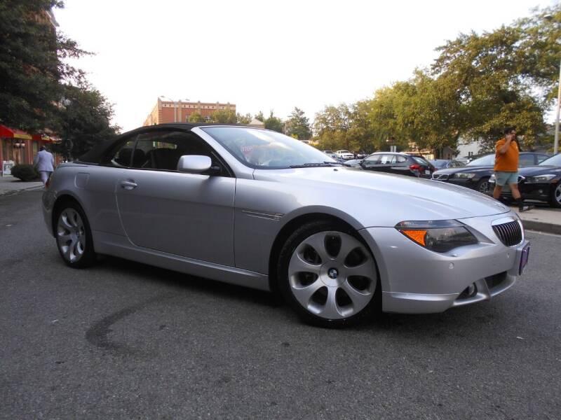 2007 BMW 6 Series for sale at H & R Auto in Arlington VA