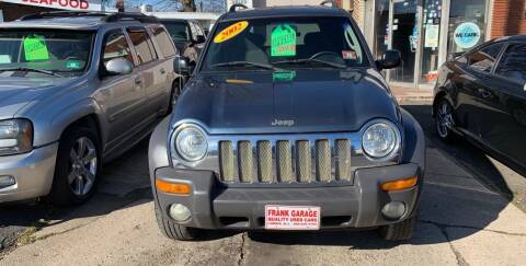 2002 Jeep Liberty for sale at Frank's Garage in Linden NJ
