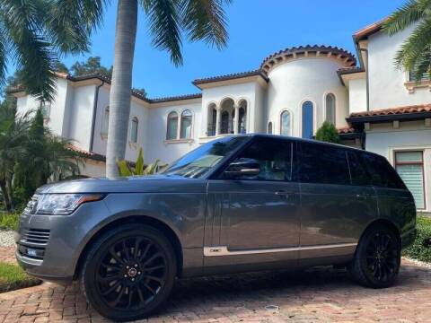 2017 Land Rover Range Rover for sale at Mirabella Motors in Tampa FL
