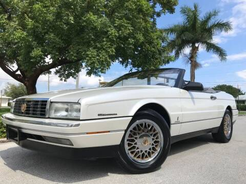 1993 Cadillac Allante for sale at DS Motors in Boca Raton FL
