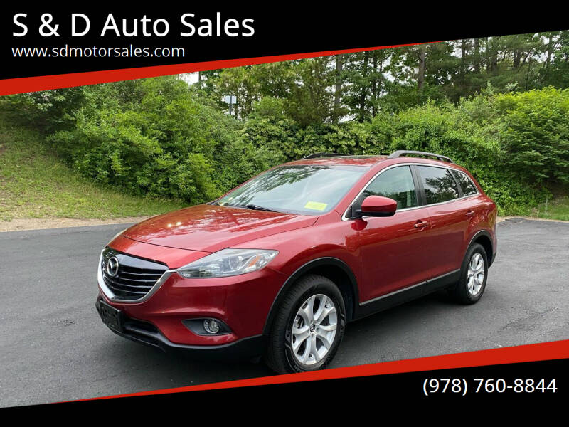 2013 Mazda CX-9 for sale at S & D Auto Sales in Maynard MA