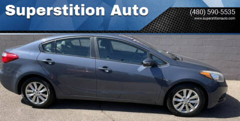 2016 Kia Forte for sale at Superstition Auto in Mesa AZ