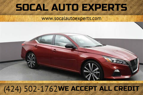 2020 Nissan Altima for sale at SoCal Auto Experts in Culver City CA