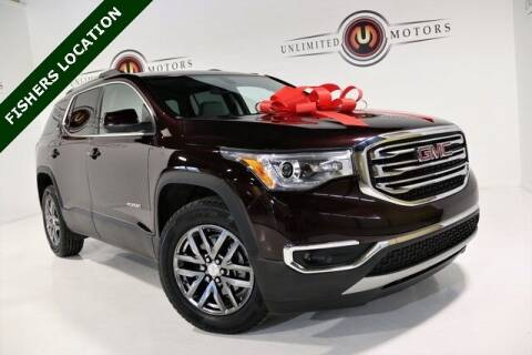 2017 GMC Acadia for sale at Unlimited Motors in Fishers IN