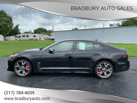 2021 Kia Stinger for sale at BRADBURY AUTO SALES in Gibson City IL
