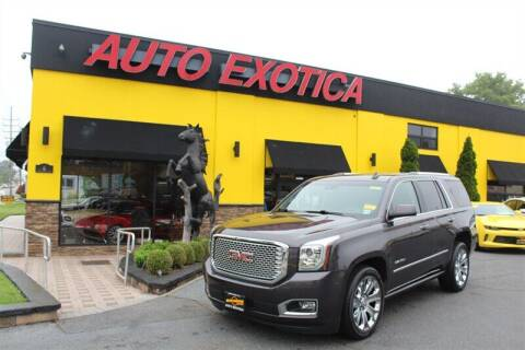 2016 GMC Yukon for sale at Auto Exotica in Red Bank NJ