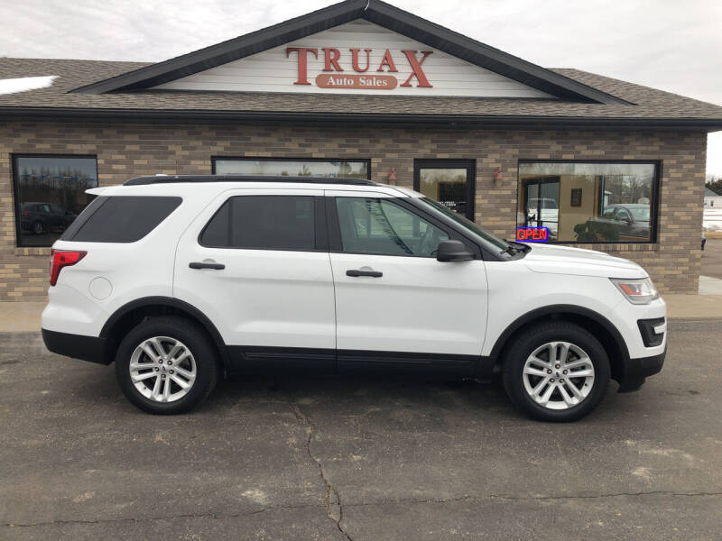 2017 Ford Explorer for sale at Truax Auto Sales Inc. in Deer Creek MN