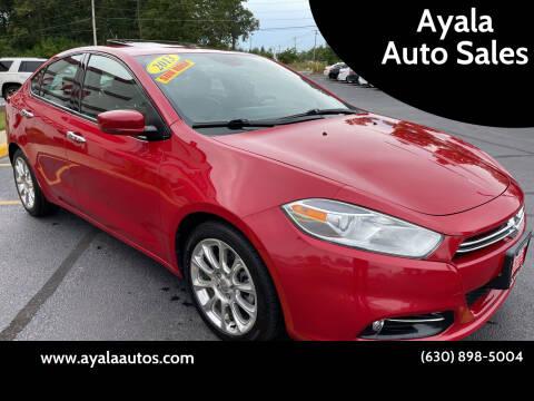 2013 Dodge Dart for sale at Ayala Auto Sales in Aurora IL