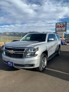 2015 Chevrolet Suburban for sale at 4X4 Auto in Cortez CO