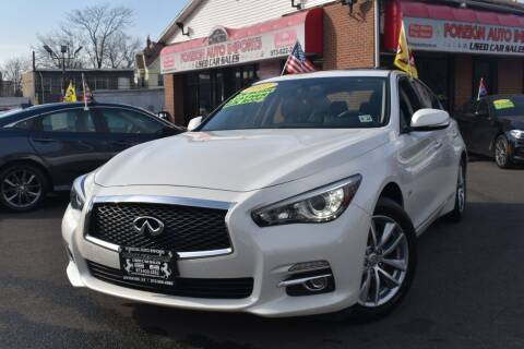 2017 Infiniti Q50 for sale at Foreign Auto Imports in Irvington NJ