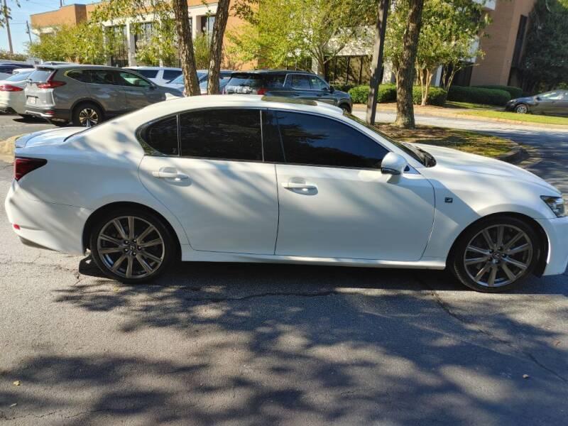2014 Lexus GS 350 for sale at C & J International Motors in Duluth GA
