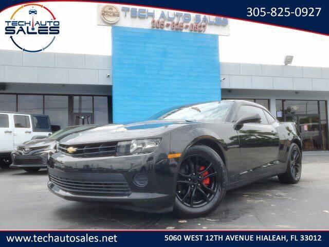 2014 Chevrolet Camaro for sale at Tech Auto Sales in Hialeah FL