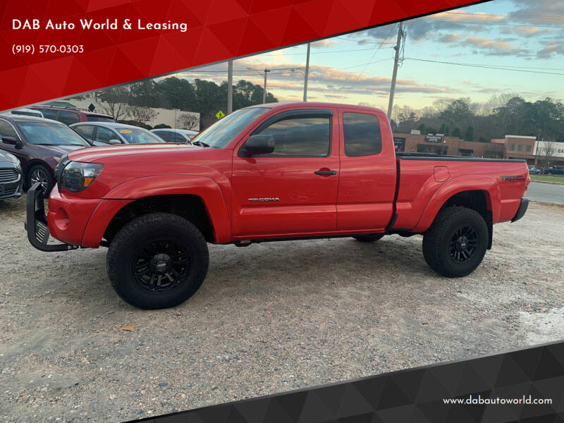 2007 Toyota Tacoma for sale at DAB Auto World & Leasing in Wake Forest NC