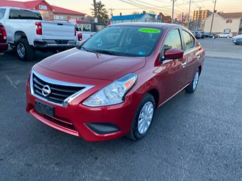 2019 Nissan Versa for sale at Sisson Pre-Owned in Uniontown PA