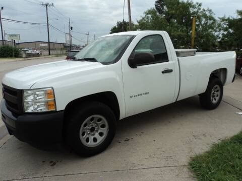 2012 Chevrolet Silverado 1500 for sale at SPORT CITY MOTORS in Dallas TX