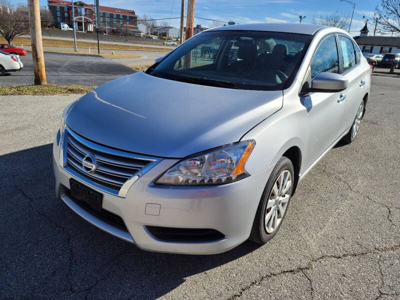 2015 Nissan Sentra for sale at Auto Hub in Grandview MO