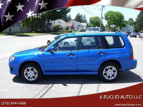 2008 Subaru Forester for sale at 6 Euclid Auto LLC in Bristol VA