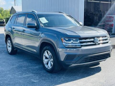 2018 Volkswagen Atlas for sale at RUSTY WALLACE CADILLAC GMC KIA in Morristown TN