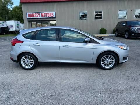 2016 Ford Focus for sale at Ramsey Motors in Riverside MO